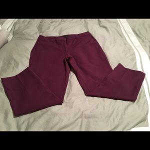 Slim ankle dress pants